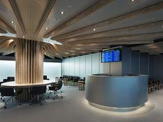 Airport lounge by Takao Shiotsuka, Oita   Japan office design