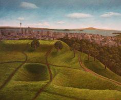Mt Eden, Auckland Nz Art, Auckland, New Zealand, Vineyard, Landscapes, Artist, Outdoor, Inspiration, Image
