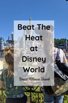 Beat The Heat At Disney World: Tips For Surviving Hot Days At Disney - Smart Mouse Travel - travel tips and tricks - Hot days at Disney World can still be fun. Learn how to beat the heat at Disney World with our fami - Disney World Florida, Disney World Resorts, Disney World Tipps, Disney World Parks, Disney World Planning, Disney World Tips And Tricks, Disney Tips, Disney Vacations, Disney Honeymoon