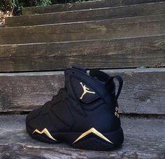 e4f263b548ace Black   Gold Fresh Jays Exclusive Jordans