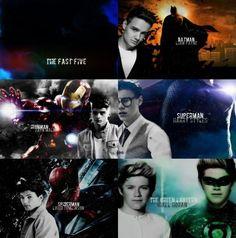 My superheros