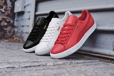 Undoubtedly, the PUMA Clyde is one of the footwear world's most celebrated models as a form of sleek style, comfortable function and quality construction. 43 years after the shoe's original debut, PUMA is returning to the silhouette with a luxurious update, alongside an apparel capsule. Featuring a supple leather upper, one of the predominant themes …