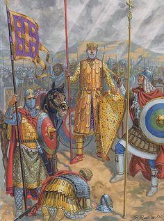 Emperor Basil II in full armour: The Georgian Campaign, 1020