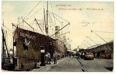De MS Rijndam, Wilhelminakade