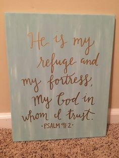 Bible Verse Scripture Custom Canvas / Philippians 4:13 I