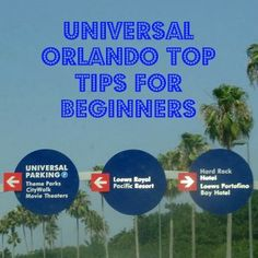 My top 10 tips for anyone going to the Universal Orlando Resort for the first time.