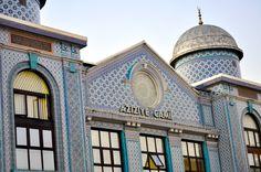 Azizye mosque, London.