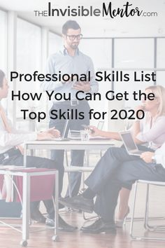 The professional skills list includes the 10 skills needed for future jobs. If you're interested in thriving in the future, you'll learn which skills to focus on and how to get started. There are recommendation for books for career development.
