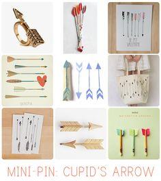 Mini-Pin: Cupid's Arrow