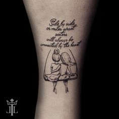 partner friendship tattoo with a script little fine tattoo by lebende legen tattoo Bff Tattoos, Bestie Tattoo, Best Friend Tattoos, Body Art Tattoos, Tatoos, Frienship Tattoos, Tattoo Studio, Freundin Tattoos, New Year New Me