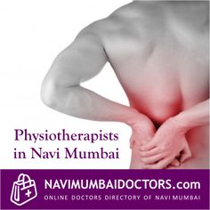 For #BackPain  #Consult   #physiotherapist  .. Book an #appointment  in #navimumbai  with qualified #physiotherapist   http://navimumbaidoctors.com/physiotherapists_doctors_navi_mumbai.html