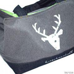 Riesige Tasche selbst genäht