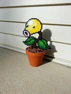Bellsprout Potted Plant Waterless Plant by BurritoPrincess, $15.00