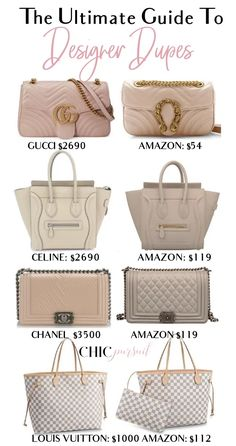 dd4735840bfb The BEST Designer Handbag Dupes On The Market (From  15!)