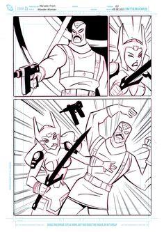 Wonder Woman comic page 3 by celaoxxx.deviantart.com on @DeviantArt