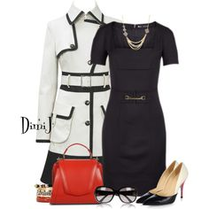 """""""Dsquared with Karen Millen"""" by dimij on Polyvore"""