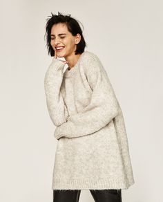 Image 4 of SOFT OVERSIZED SWEATER from Zara | illustrate // paint ...