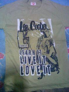 Lee Cooper t'ees