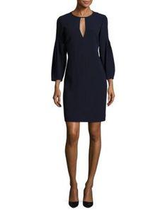 BURBERRY Carrie Keyhole Dress. #burberry #cloth #dress