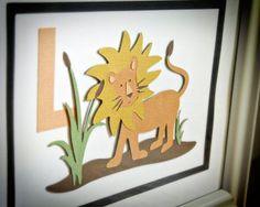 Cricut Nate's ABCs: lion