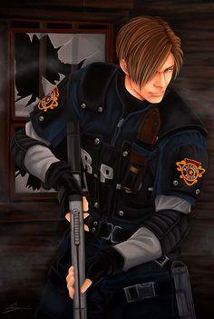 Resident Evil 4: Leon by starxade.deviantart.com on @deviantART