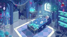 Deckard's room from Bee and Puppycat