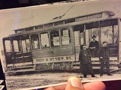 Piedmont Mt. View rail car line