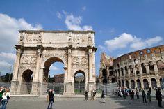 Arco de Constantino - El arco del triunfo más moderno de Roma