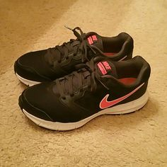 Nike shoes Nike Downshift 8 shoes worn only 2 times. Like new. Great condition! Size 8 womens Nike Shoes Athletic Shoes