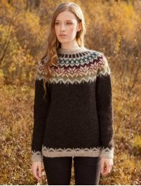 Crochet Patterns Sweter Knitting package Lettlopi No. Jumper Knitting Pattern, Knitting Patterns Free, Knit Patterns, Free Knitting, Free Pattern, Punto Fair Isle, Tejido Fair Isle, Icelandic Sweaters, Fair Isle Knitting