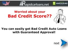 Guaranteed approval auto-loans for people with bad credit get instantly approved now
