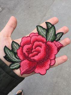 13*9 cm 3D rose pivoine fleur patch Brodé vêtement Appliques coudre Sur Patches Vêtements cheongsam robe de mariée Accessoire de la boutique en ligne | Aliexpress mobile