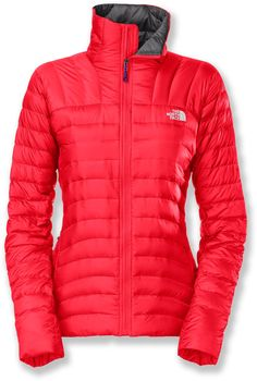 The North Face Thunder Micro jacket is a down-filled, technical classic that keeps you warm while skiing.