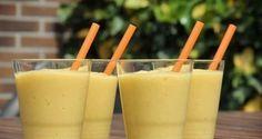 Smoothie banaan mango en ananas recept