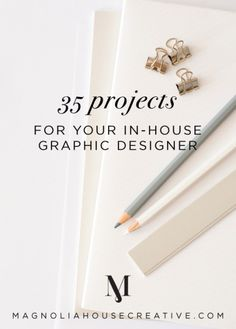 35 Projects for Your In-House Graphic Designer - Magnoliahouse Creative Are you creative? Do you have an eye for detail and excellent communication skills? Find out if a career in graphic design is the perfect work-at-home opportunity for you. Web Design, Website Design, Freelance Graphic Design, Graphic Design Tutorials, Tool Design, Graphic Design Inspiration, House Design, Graphic Design Company, Graphic Projects