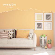 Mineralfarbe Sonnenschein Aviva Tiromin-Color AS Elegant, Home Decor, Paint, Painting Kids Rooms, Tall Ceilings, Sunshine, Living Area, Wallpaper, Classy