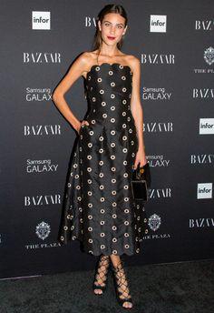 9/5 #アレクサ・チャン Harper's Bazaar Celebrates ICONS  海外セレブ最新画像・私服ファッション・着用ブランドチェック