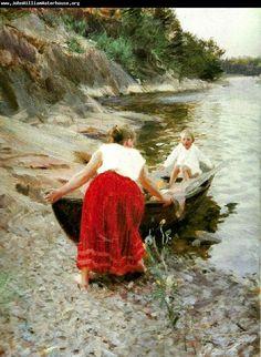Carol: Anders Zorn (1860-1920) Swedish painter