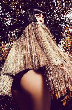 Kylie Jenner wearing Givenchy gold silk-satin fringe jacket Celebrating 18th birthday #kyliejenner #kylie #jenner #celebritystyle #fashion #style #givenchy #fringe