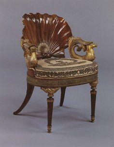 Venus Chair by Carlton Hobbs; probaby German, circa 1800. via Flickr