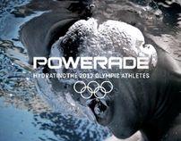 POWERADE 2012 OLYMPICS by alvaro sotomayor, via Behance