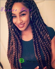 "Havana twist synthetic braiding hair ombre 12""-24"" Havana mambo twist"
