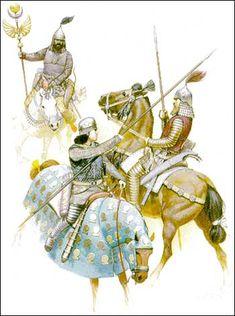History of Iran: Parthian Army
