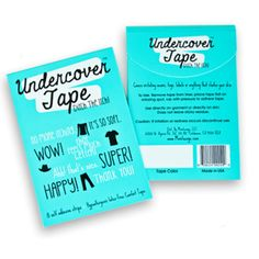 Hypoallergenic, latex free self-adhesive fabric tape for the win! #Ditch the #Itch @UndercoverTape #SpringBabyTrends