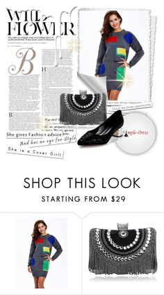 """""""Simple-dress 13."""" by qara-c ❤ liked on Polyvore featuring Nivea and modern"""