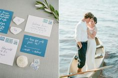 Soft and Romantic Emerald Coast Wedding Inspiration : Bajan Wed