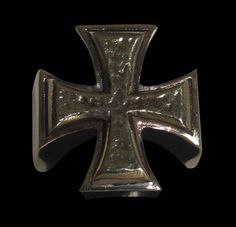 Bronze Iron Cross Religion Outlaw Biker Ring - Any Size - Free Shipping #Handmade #IronCross