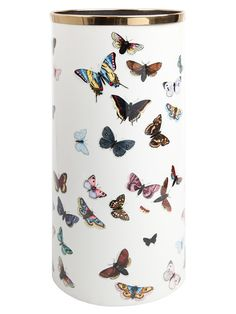 "Lovely! ""Farfalle"" Umbrella holder by Fornasetti."