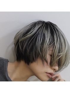 Cool Hair Color, New Hair, Cool Hairstyles, Short Hair Styles, Hair Beauty, Makeup, People, Women, Fashion