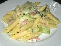 Pasta con broccolo romano,pancetta e pecorino